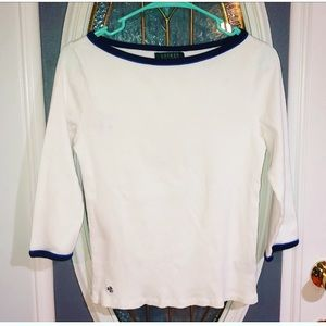 Super cute Lauren Ralph Lauren Top!